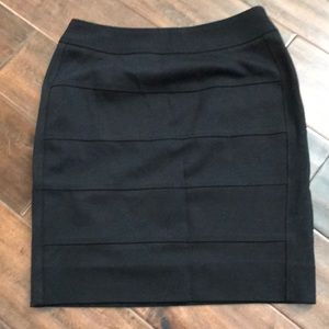 WHBM Banded Pointe Pencil Skirt